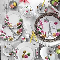 Kütahya Porselen 8917 Desen Leonberg 43 Parça Kahvaltı Takımı