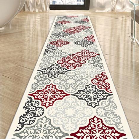 Confetti Gönen Halı (Kırmızı) - 120x400 cm