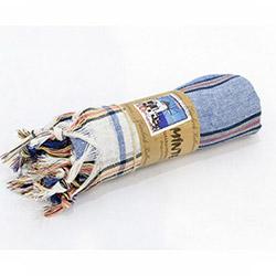 Minteks Peştamal (Mavi) - 100x180 cm