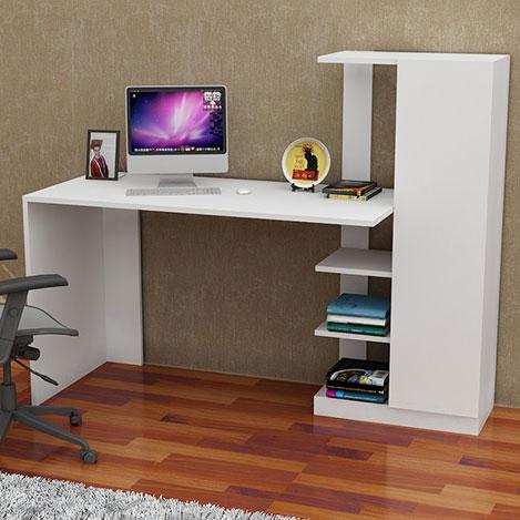 Resim  Arnetti Yağız Çalışma Masası - Beyaz