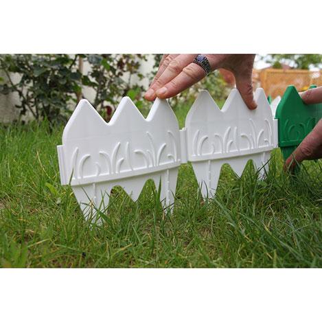 Resim  Gerok Dekorafit Bahçe Çiti - Beyaz