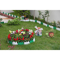 Gerok Dekorafit Bahçe Çiti - Beyaz