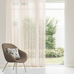 Premier Home 2040 Kahve Tül Perde - 140x270 cm