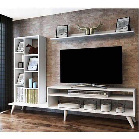 Resim  House Line İda Tv Ünitesi - Beyaz