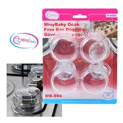 Miny Baby 804 Ocak Fırın ve Gaz Düğmesi Güvenlik Kapağı