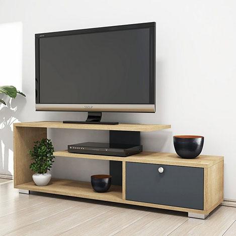 House Line Kind Tv Sehpası - Safir / Antrasit