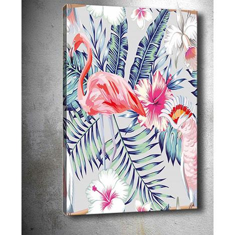 Resim  Tablo Center 538460995 Tropikal Kanvas Tablo - 30x40 cm