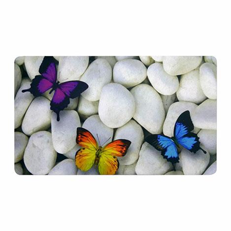 Resim  Yeni Nesil Kelebek Kapı Önü Paspası - 40x70 cm