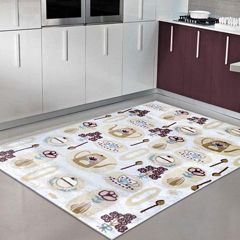 Resim  Payidar Evrim EVHB38 Modern Mutfak Halı - 80x300 cm