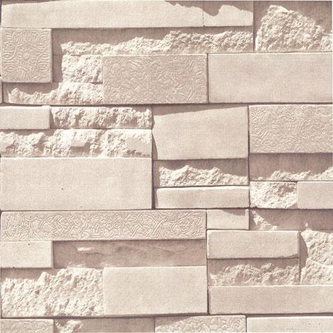 Golden 13152  Popüler Taş Desen Duvar Kağıdı (5 m²)