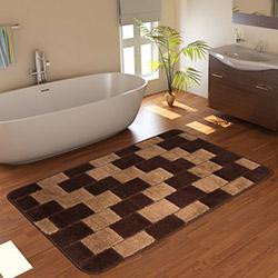 Confetti Bornova Banyo Paspası (Kahverengi) - 60x100 cm