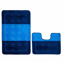 Confetti Edremit 2'li Klozet Takımı - Koyu Mavi