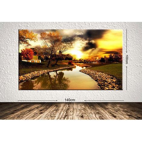 Tablo Center DEVDR57 Dev Manzara Kanvas Tablo - 100x140 cm