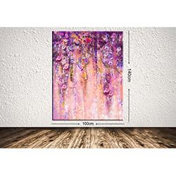 Tablo Center DEV299833328 Dev Çiçek Kanvas Tablo - 100x140 cm