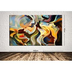 Tablo Center DEV230711539 Dev Dekoratif Kanvas Tablo - 100x140 cm