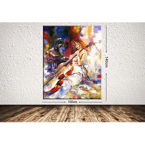 Tablo Center DEVDRBYN11 Dev Dekoratif Kanvas Tablo - 100x140 cm