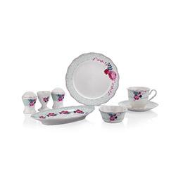 Schafer XXX02 32 Parça Joy Porselen Kahvaltı Takımı