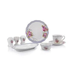 Schafer XXX03 32 Parça Joy Porselen Kahvaltı Takımı