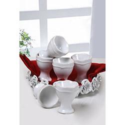 Keramika Juliet Yumurtalık (Beyaz) - 7 cm