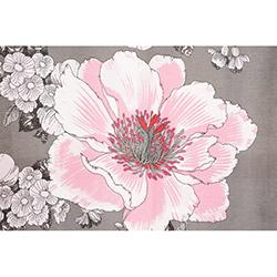 Melodie 1272 Fon Perde (Gri / Pembe) - 145x250 cm