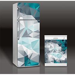 Supersticx MAC162 Buzdolabı & Bulaşık Makinası Sticker