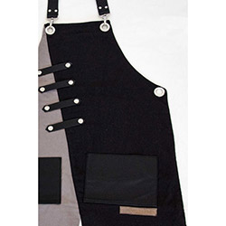 Monapron Miro Özel Tasarım Önlük - Siyah