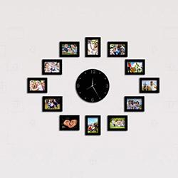 DekorSaat 081010 Çerçeveli Duvar Saati