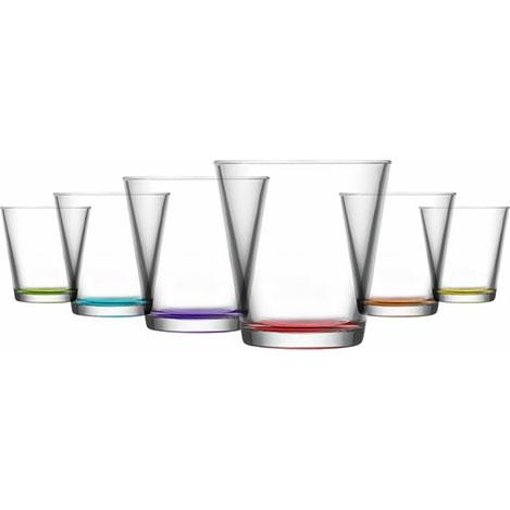 Lav HER230068 6'lı Cam Meşrubat Bardağı Seti