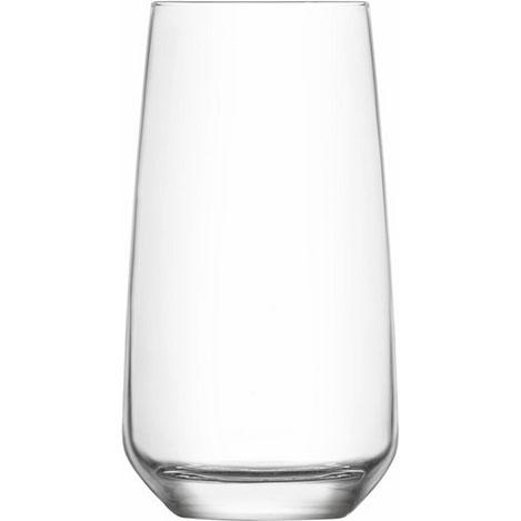 Lav LAL376 6'lı Cam Meşrubat Bardağı Seti