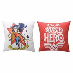 Taç SüperHero Girls Kırlent -  40x40 cm