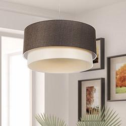 Safir Light Sarkıt - Koton / Kahverengi