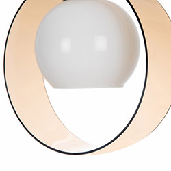 Safir Light Halka Tekli Pleksi Sarkıt - Bal Köpüğü
