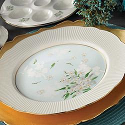 Kütahya Porselen Bone İlay 36 Parça 9796 Desenli Kahvaltı Takımı