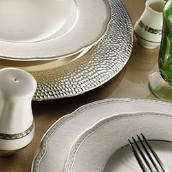 Kütahya Porselen Bone Olympos 30 Parça 9824 Desenli Yemek Takımı