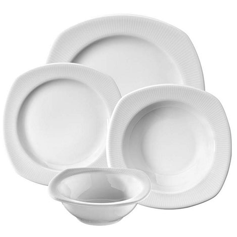 Resim  Kütahya Porselen Çisil CSL24YS000 24 Parça Yemek Takımı