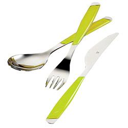Kütahya Porselen 30 Parça Çocuk Çatal Bıçak Seti - Fıstık Yeşili
