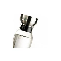 Kütahya Porselen Metal Kapak Cam Sürahi - 800 ml