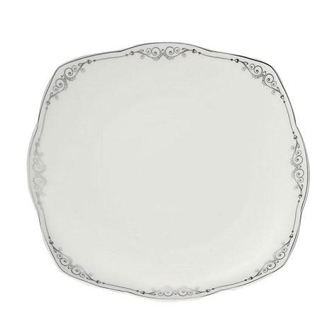Resim  Kütahya Porselen 73 Parça Kare Bone 50109 Desenli Yemek Takımı