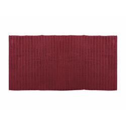İrya Frizz Microline Banyo Havlusu (Bordo) - 90x150 cm