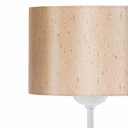 Safir Light Lampan No.8 Abajur - Beyaz / Hardal