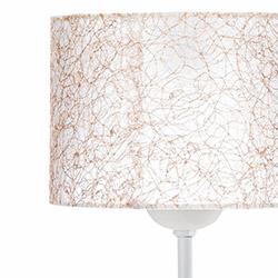 Safir Light Lampan No.10 Abajur - Beyaz / Sarı