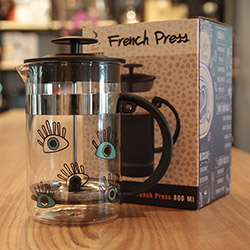 Biggdesign Gözüm Sende Çelik French Press - 800 ml.