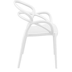 Siesta Mila Sandalye - Beyaz