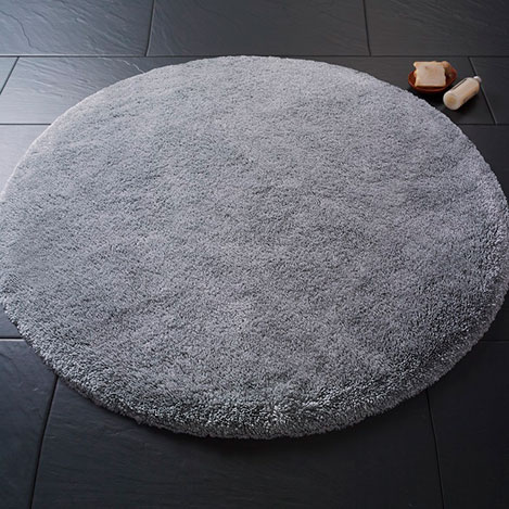 Confetti Miami Banyo Paspası (Gri) - 100 cm