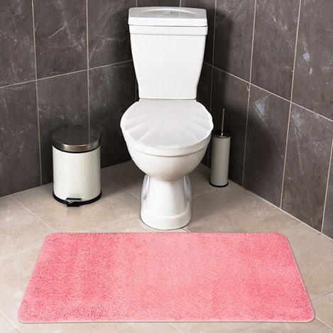 Resim  Confetti Firuze Banyo Halısı (Pembe) - 60x120 cm