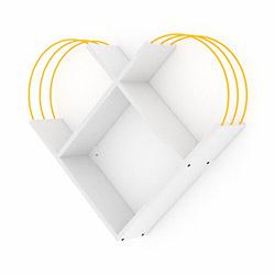 Rafevi Case Raf - Beyaz / Sarı