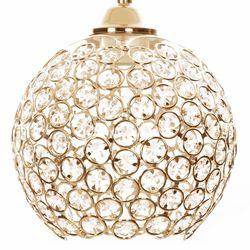 Safir Light Mercan Tekli Taşlı Sarkıt - Altın