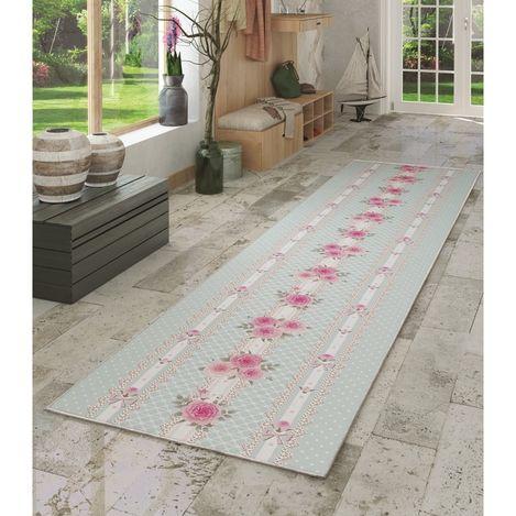 Resim  Confetti Pink Rose Yolluk (Pembe) - 120x300 cm