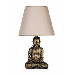 Qdec Modern Dizayn Buda Abajur - Gold / Bej