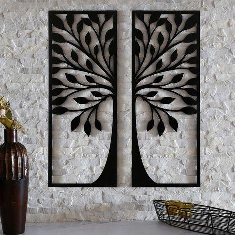 Resim  Dekorjinal MTK045 Ağaç Duvar Dekoru
